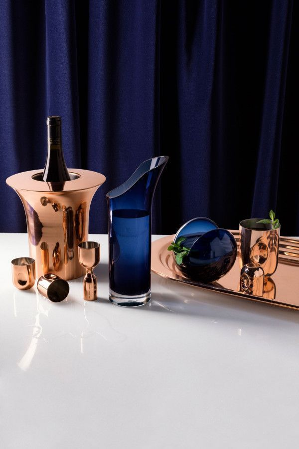 Tom Dixon Plum Shot glas giftset