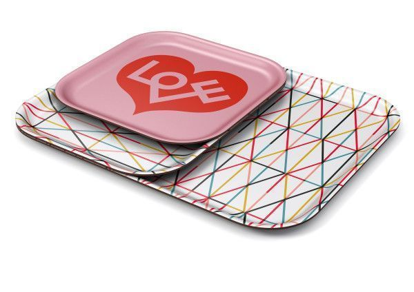 Vitra Classic Tray Love Heart dienblad small