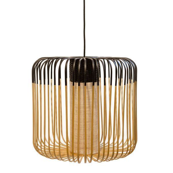 Forestier Forestier Bamboo Light Hanglamp Medium Zwart