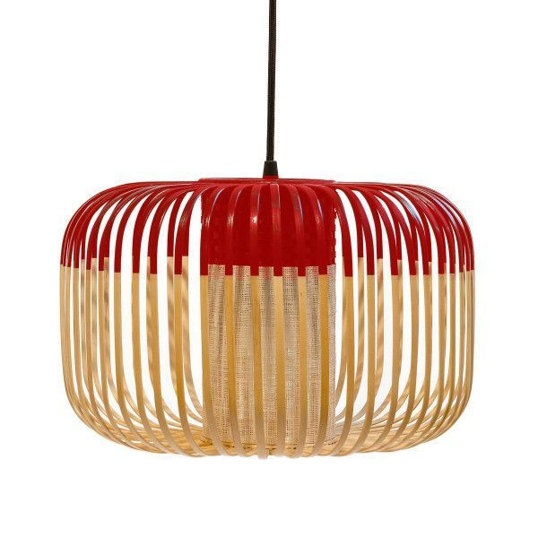 Forestier Forestier Bamboo Light Hanglamp Small Rood