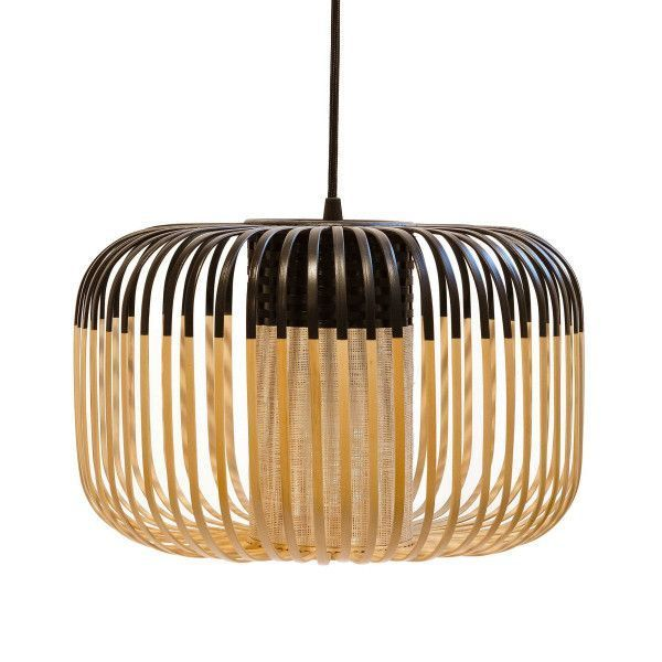 Forestier Forestier Bamboo Light Hanglamp Small Zwart