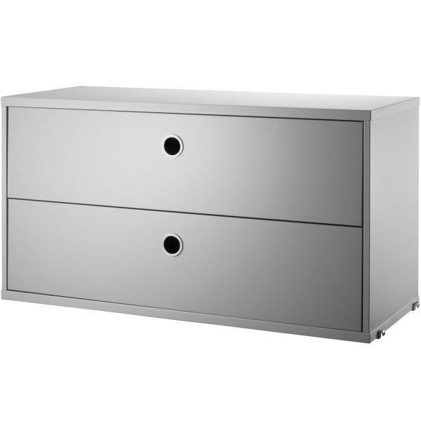 Ladekast 200 Cm.String Cabinet With Two Drawers 78 X 30 X 42 Cm Flinders Verzendt