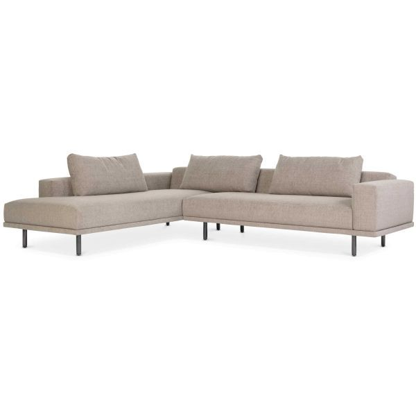 Design on Stock Cascade hoekbank met open chaise longue