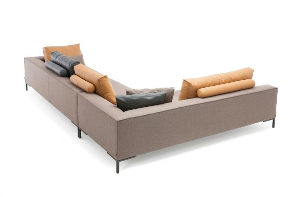 Design on Stock Aikon Lounge bank XL 3-zits 1-arm hoekopstelling