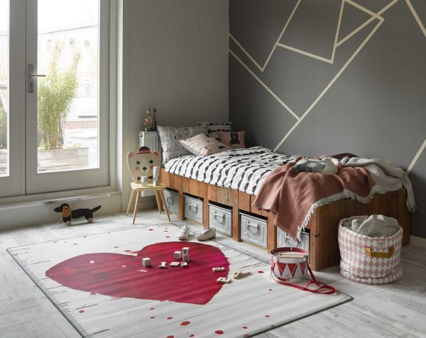 Tarkett Heart vloerkleed vinyl 125x196