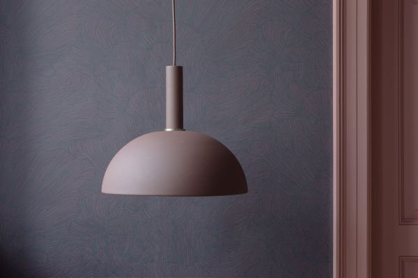Ferm Living Dome Dark Green hanglamp