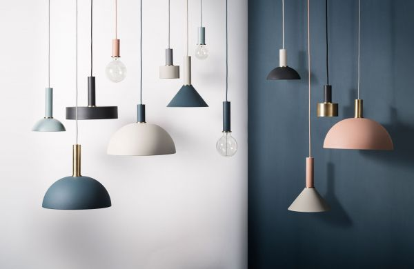 Ferm Living Disc Brass hanglamp