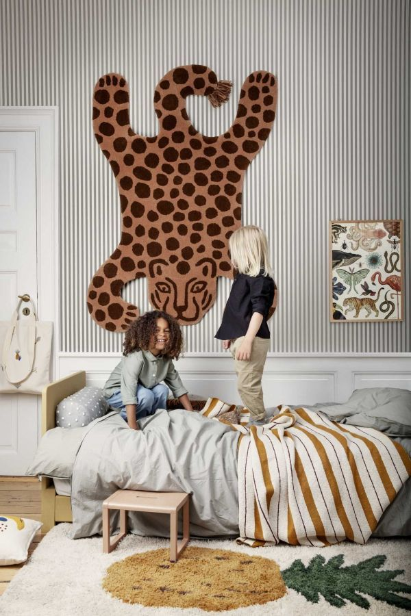 Ferm Living Safari leopard vloerkleed