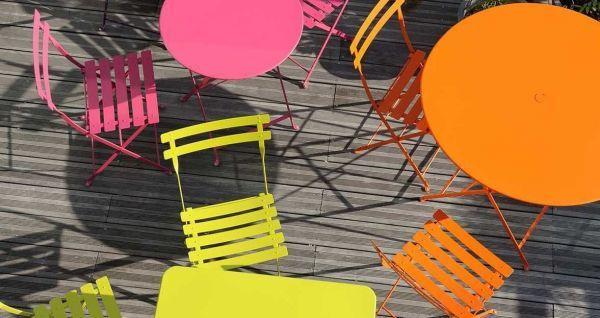 Fermob Bistro tuinset 77 tafel + 2 stoelen