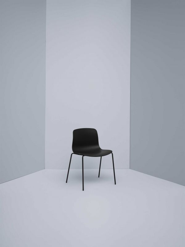 Hay Outlet - About a Chair AAC16 stoel met wit onderstel White