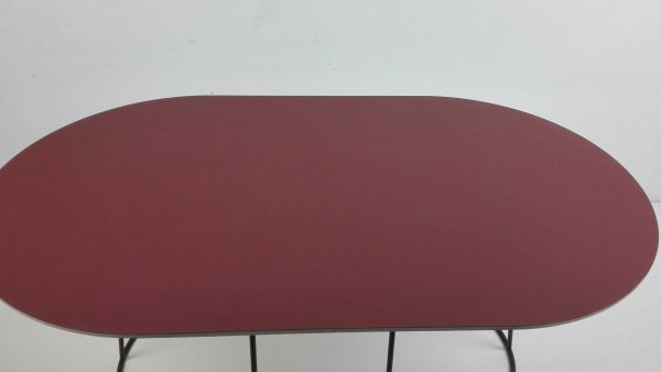 Muuto Outlet - Airy Medium salontafel 88x51 Plum