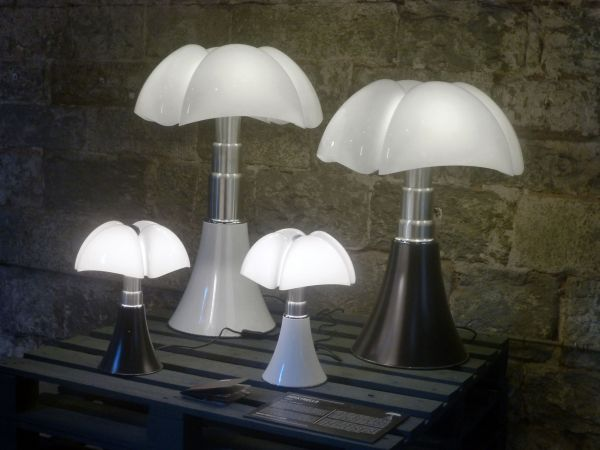 Martinelli Luce Mini Pipistrello tafellamp LED Koper