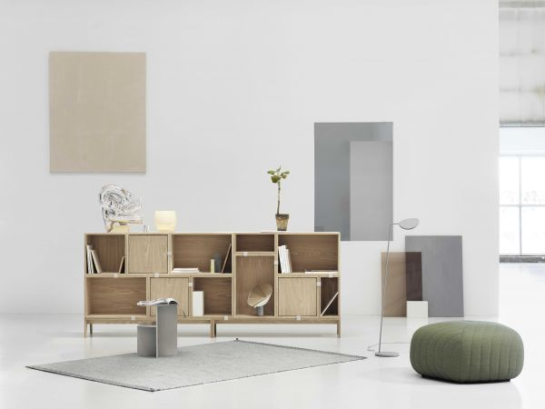 Muuto Stacked 2.0 kast met backboard large