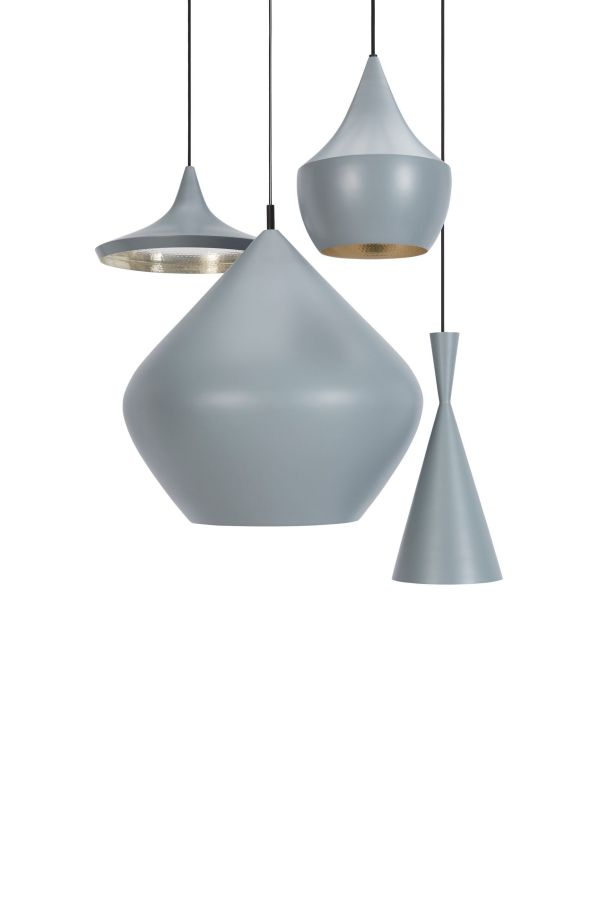 Tom Dixon Beat Light Fat hanglamp messing