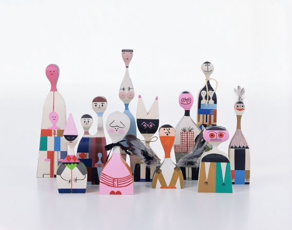 Vitra Wooden Dolls No. 5 kunst