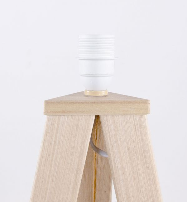 Zuiver Tripod Wood vloerlamp