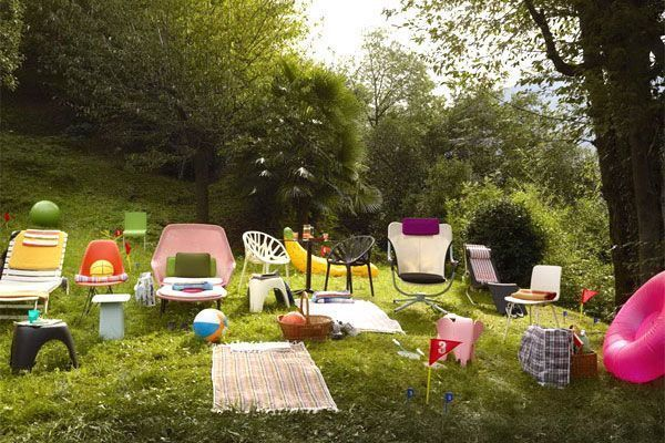 Richt je tuin in met de Vitra outdoor collectie